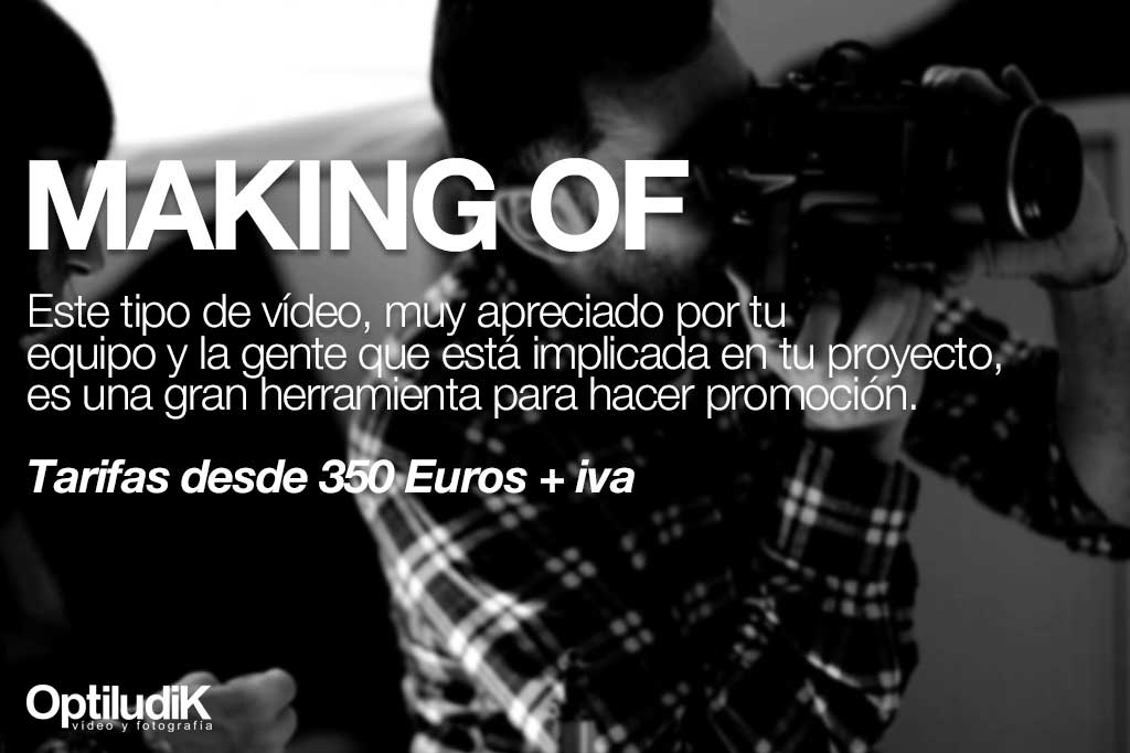 Vídeo making of