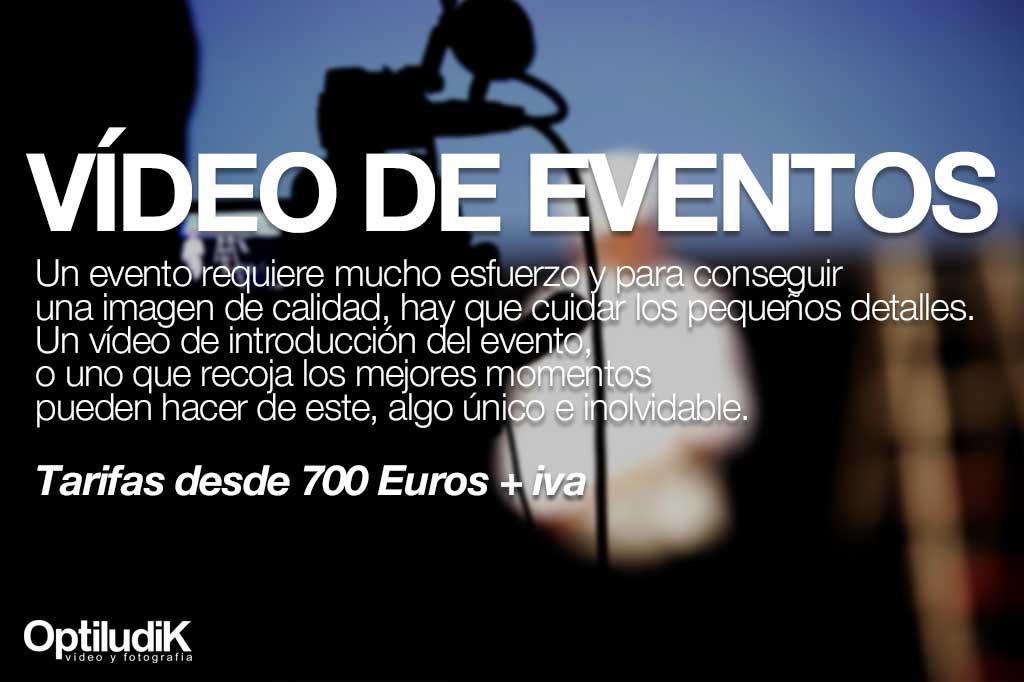 Vídeos de eventos