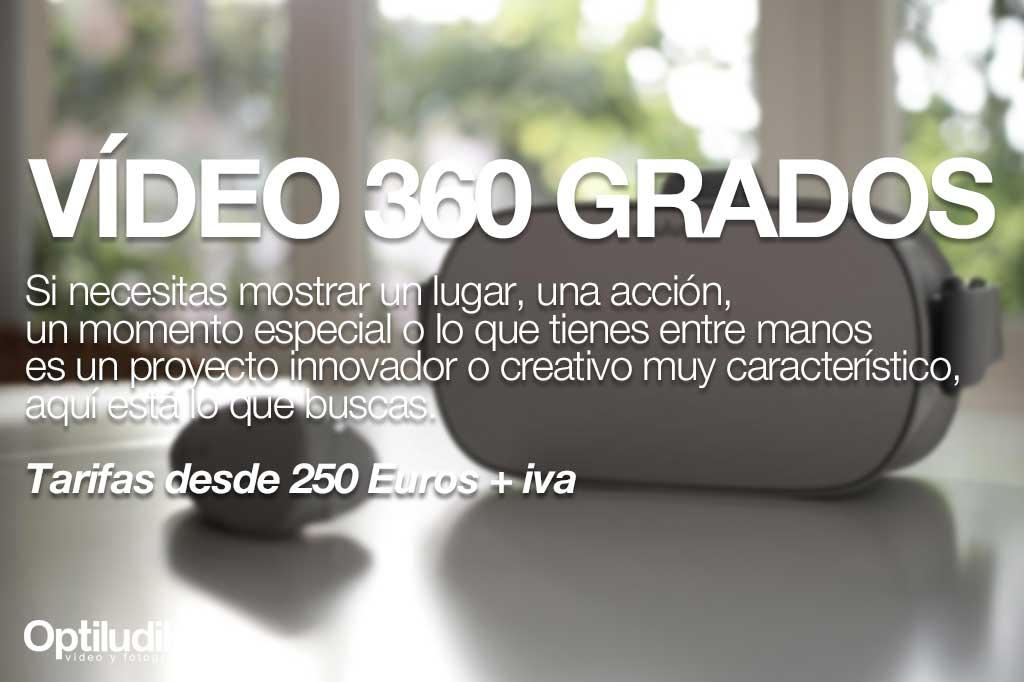 Producción vídeo 360 grados